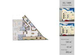 apartment for sale Sannat, 141 ㎡, bedrooms: 3, new development
