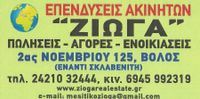 """ZIOGA"" REAL ESTATE AGENT"