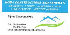 KOBA CONSTRUCTIONS AND SERVICES estate agent